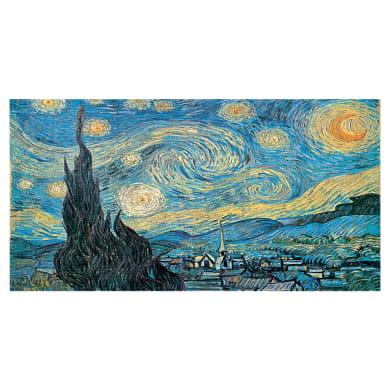 Quadro su tela Notte stellata Van Gogh 145x75 cm