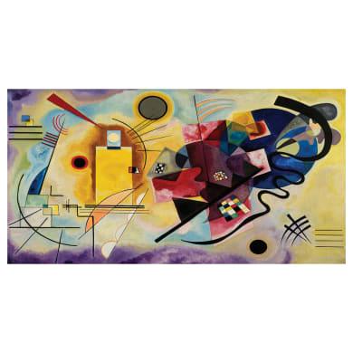 Quadro su tela Kandinsky 145x75 cm