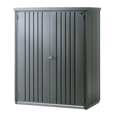 Box portattrezzi in acciaio BIOHORT L 155 x P 83 x H 182.5 cm
