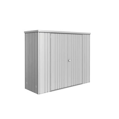 Box portattrezzi in alluminio BIOHORT L 227 x P 83 x H 182.5 cm