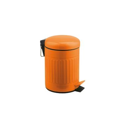 a pedale arancione 3 Lin inox