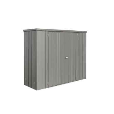 Box portattrezzi in acciaio BIOHORT L 227 x P 80 x H 182 cm