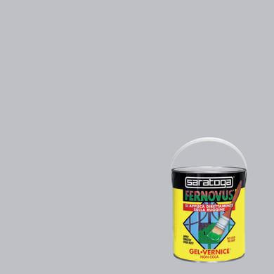 Smalto antiruggine SARATOGA Fernovus grigio perla 2.5 L