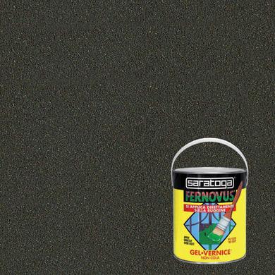 Smalto antiruggine SARATOGA Fernovus grigio ferro 2.5 L