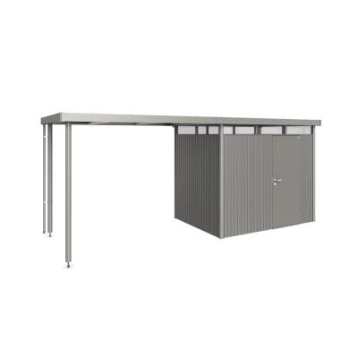 Carport in alluminio L 282  x P 195  x H 222