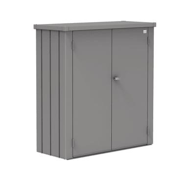 Box portattrezzi in acciaio L 132 x P 50 x H 140 cm