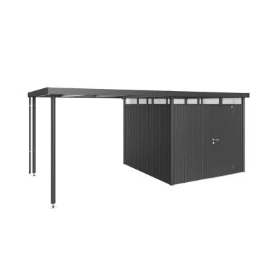 Carport in alluminio L 282  x P 275  x H 222