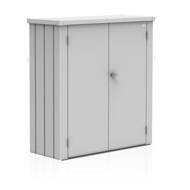 Box portattrezzi in alluminio L 140 x P 132 x H 57 cm