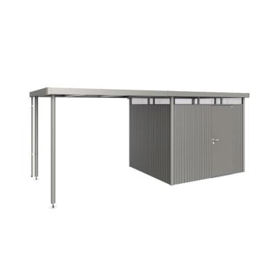 Carport in alluminio L 282  x P 235  x H 222