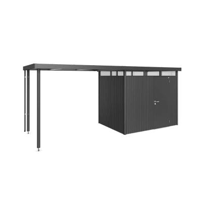 Carport in acciaio L 282  x P 195  x H 222
