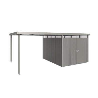 Carport in alluminio L 282  x P 315  x H 222