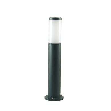Lampioncino Fidel H55 cm in alluminio, nero, E27 1x MAX 25W IP43
