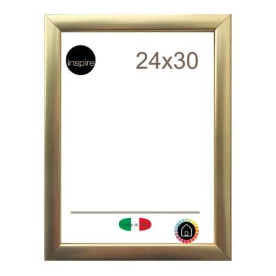 Cornice INSPIRE Glamour oro per foto da 24x30 cm
