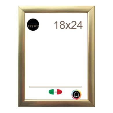 Cornice INSPIRE Glamour oro per foto da 18x24 cm