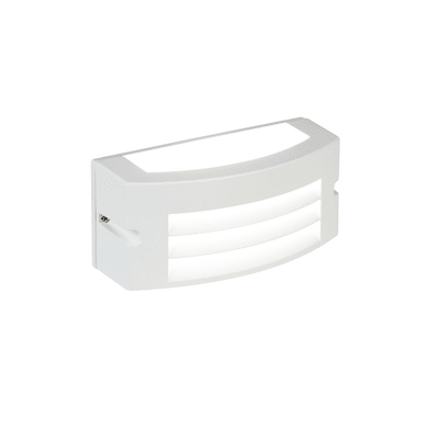 Applique Kobe LED integrato in alluminio, bianco, 10W 700LM IP65
