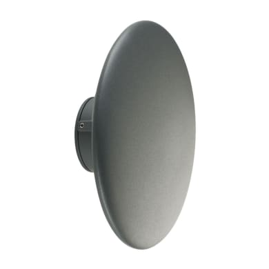 Applique Head LED integrato in alluminio, grigio, 18W 760LM IP65