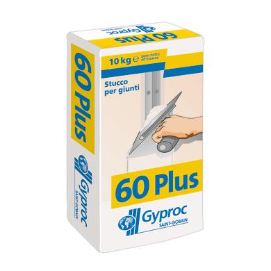 Stucco in polvere GYPROC Gyproc 60 plus 10 kg