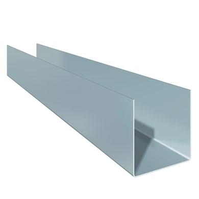 Profili a u FASSA BORTOLO 16 x 28 mm 3 m