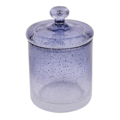 Porta cotone Atmosphere in vetro trasparente blu SENSEA