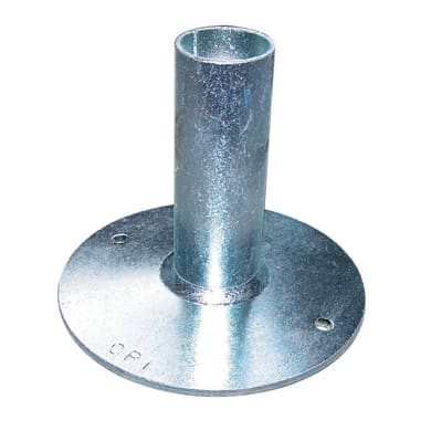 Base fissa H 10 cm