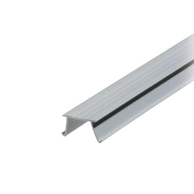 Gocciolatoio per balcone in pvc 2000 x 15 x 30 mm, 50 pezzi