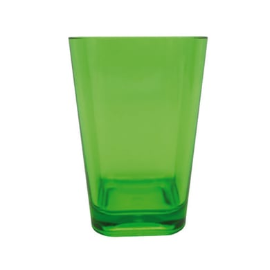 Bicchiere porta spazzolini Claire in plastica verde