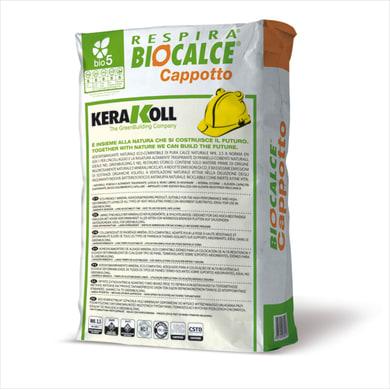 Collante rasante KERAKOLL Biocalce coppotto 25 kg