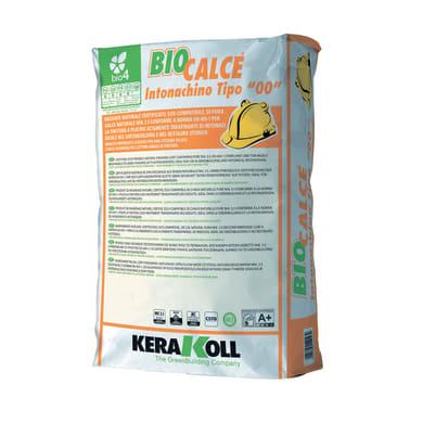 Intonaco KERAKOLL Biocalce Tipo 00 20 kg