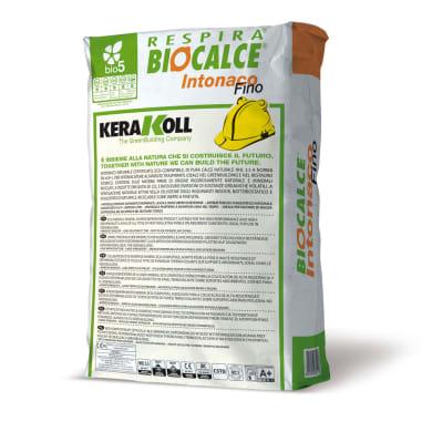 Intonaco KERAKOLL Biocalce Traspirante 25 kg