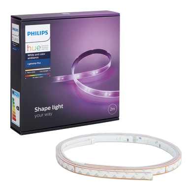 Kit nastro led 2m luce rgb 1600LM IP20 PHILIPS HUE