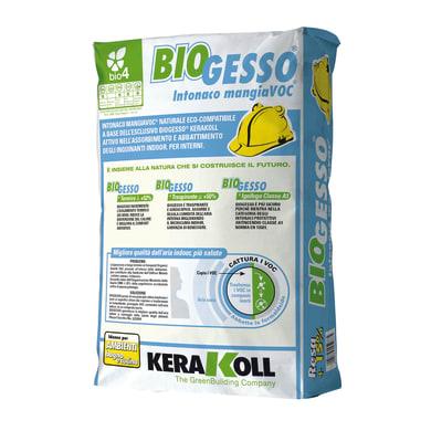 Malta isolante KERAKOLL Biogesso intonaco 25 kg
