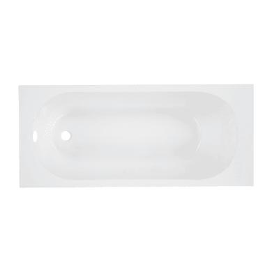 Vasca rettangolare Nerea bianco 70 x 160 cm SENSEA
