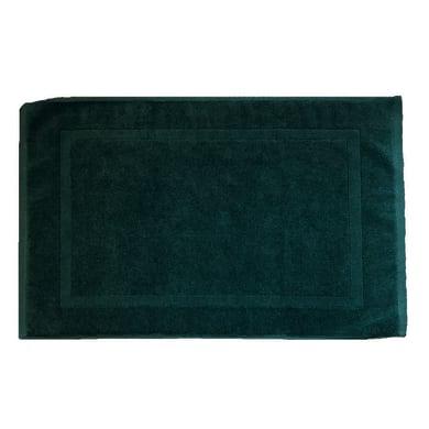 Tappeto bagno rettangolare Eponge in cotone verde 80 x 50 cm