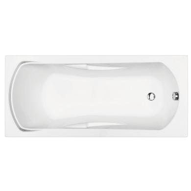 Vasca rettangolare Alba bianco 70 x 160 cm