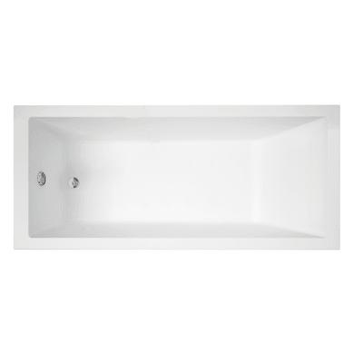 Vasca rettangolare Amea bianco 70 x 160 cm