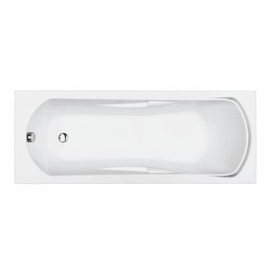 Vasca rettangolare Alba bianco 70 x 170 cm