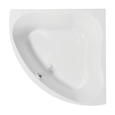 Vasca angolare Trevo acrilico bianco 135 x 135 cm