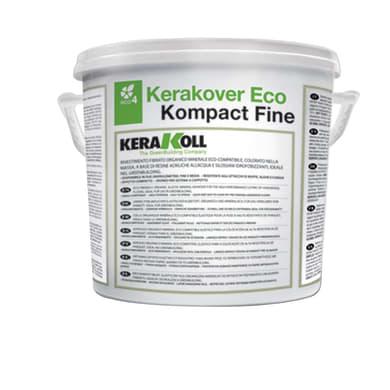Intonaco KERAKOLL Eco Kompact K037003 fine 25 kg