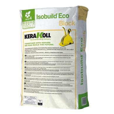 Collante rasante KERAKOLL Isobuild Eco Block 25 kg