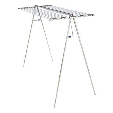 Stendibiancheria da appoggio con battenti LEIFHEIT Linomaxx 320 in alluminio per a pavimento L 228 cm grigio