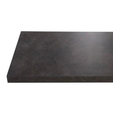 Top per lavabo SENSEA Remix L 90.4 x P 49 x H 3.8 cm opaco