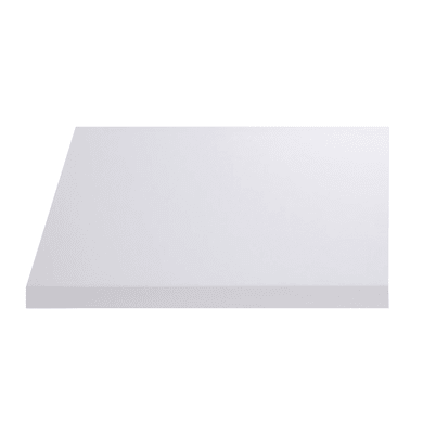 Top per lavabo SENSEA Remix L 90 x P 49 x H 3.8 cm lucido