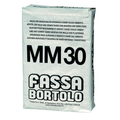 Malta da muratore FASSA BORTOLO Classe M5 25 kg