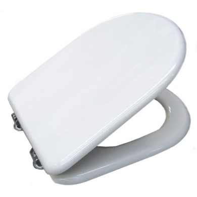 Copriwater a d Dedicato per serie sanitari Yndra termoindurente bianco
