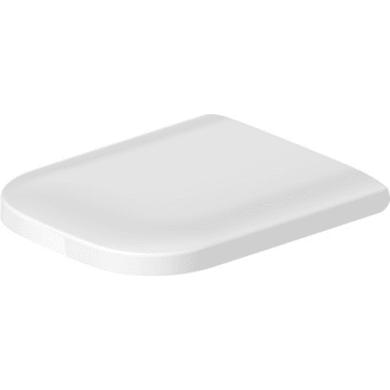 Copriwater a d Dedicato per serie sanitari Happy D plastica bianco