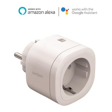 Presa Wi-Fi AVIDSEN schuko - 3600W bianco