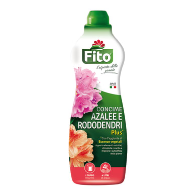 Concime per acidofile liquido FITO azalee e rododendri plus Bottiglia da 1 litro