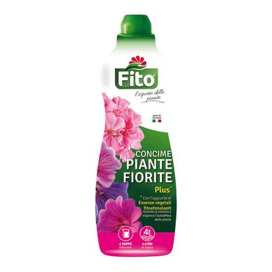 Concime piante fiorite liquido FITO Plus Bottiglia da 1 litro