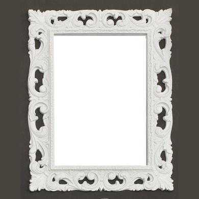 Specchio con cornice bagno rettangolare Barocco L 75 x H 96 cm