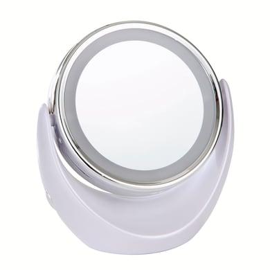 Specchio ingranditore tondo Crystal L 18.8 x H 18.9 cm Ø 15 cm
